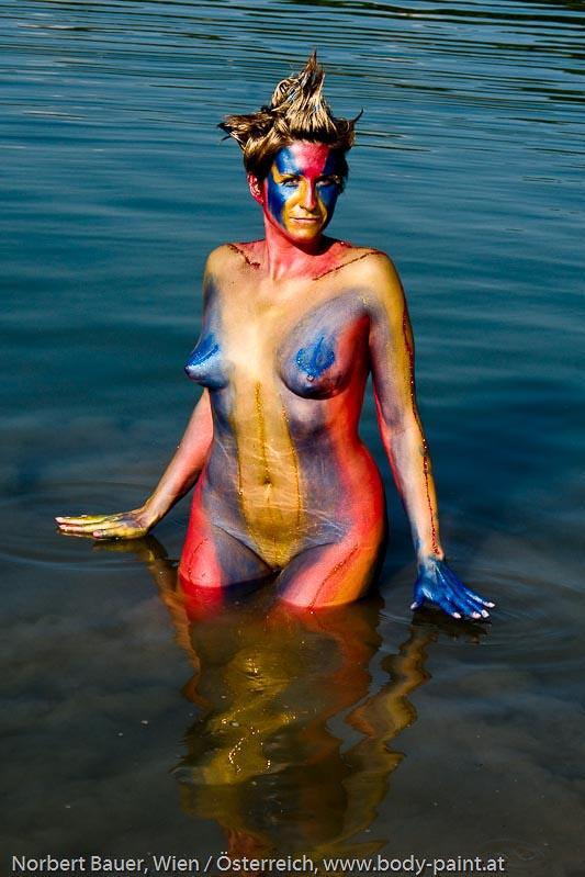 Bodypaint Farbmassage Metallische Bodypaintfarben